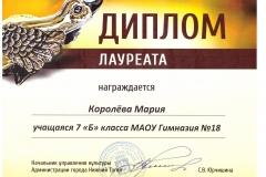 Диплом. Серая ШейкаКоролева Мария 2018